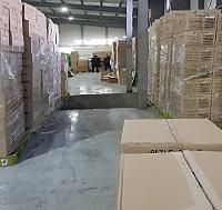 [사진] 창고 가득 쌓인 '매점매석' 마스크 411만개 적발