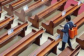 29일 코로나19 발생 현황...최근 교회 내 소모임서 지역 감염 활발